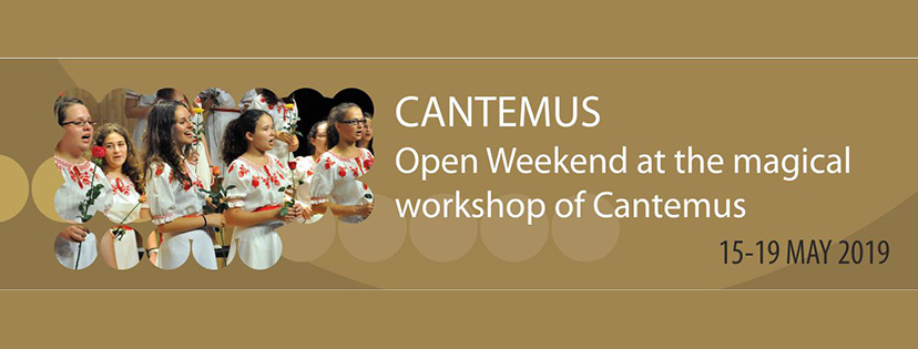 Cantemus Open weekend
